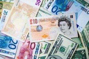Dollaro e sterlina SalvaDenaro